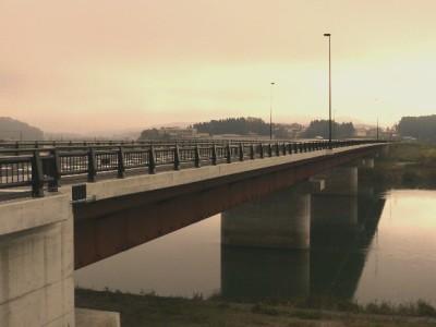 新大蔵橋(右岸下流)