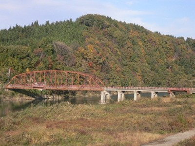 旧大蔵橋(左岸下流)