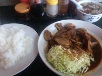 肉ヤサイ炒ライス