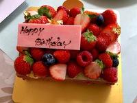 オーボナクイユ☆BIRTHDAYケーキ♪