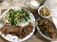 7月19日の夕食.。.:*☆