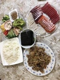 手巻き寿司☆