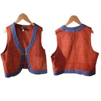used ladys vest pick up item!!