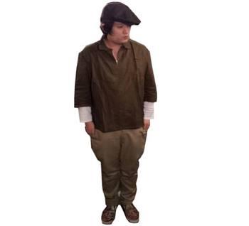 【チェコ製】1980sデッドストックプルオーバーシャツ