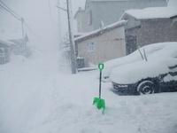 もう雪いりましぇ~ん!
