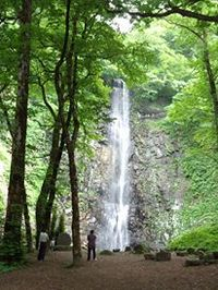 玉簾の滝でお散歩