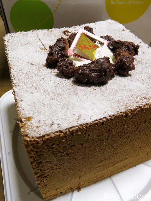 R メリクリ2014♪アンジェロオードブル&椎茸チョコチップタルト&うろこやシフォン