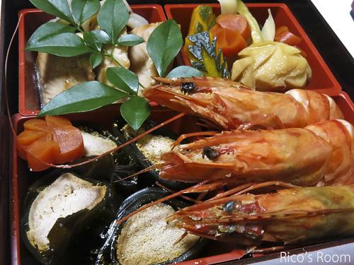 R 日本料理『村上』の感謝おせち2016&飛島産サザエで、新年祝い♪