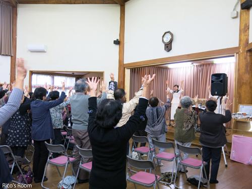 R 酒田市/十坂こども園『お達者クラブ』にて、ルリアールミュージックコンサート♪