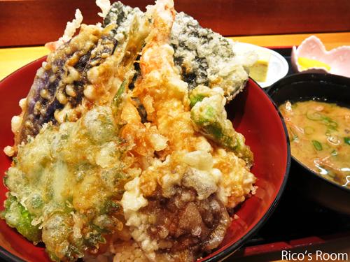 R だるま寿司(酒田)の豪華天丼ランチ&桜の間公開の巻♪