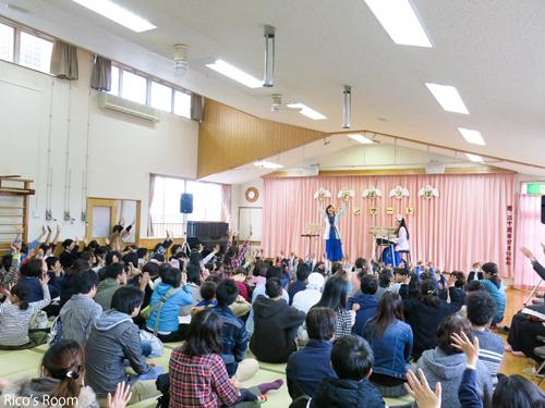R『平成29年度 はとぽっぽコンサート/小鳩保育園』にルリアールで出演をさせていただきました♪