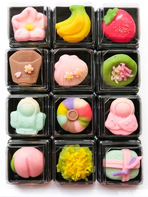 R お雛様の上生菓子&干菓子/東根菓子舗(酒田市)