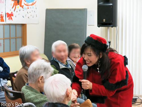 R『デイサービスひばり』様(酒田市)クリスマス会でルリアールコンサート♪