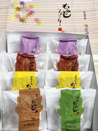 R 広島名物『もみじ饅頭』&広島安芸津名物『牡蠣まるごとせんべい』をお土産にいただきました♪