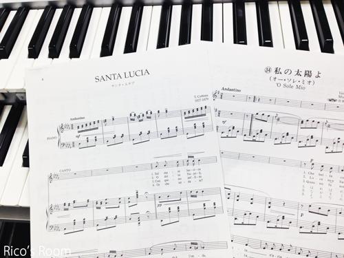 R 楽譜デザインの『傘立て』購入♪&カンツォーネ&ハワイアンに挑戦♪