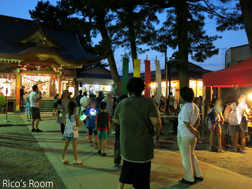 R 酒田駅前『キウリ天王祭(八雲神社)2015』にY&Rで出演させていただきました♪
