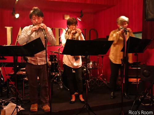 R 酒田駅前『Jazz Rino NIGHT17』久しぶりにライブ観戦の巻♪