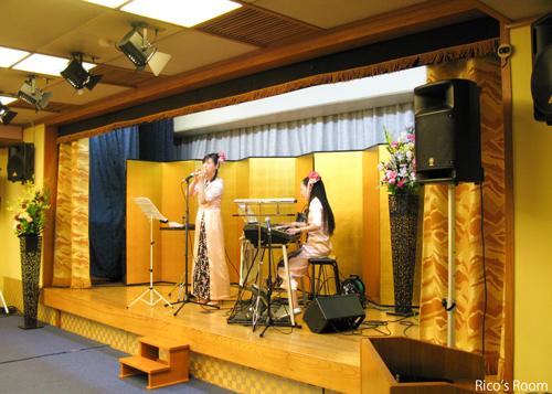 R 湯野浜温泉『愉海亭みやじま/第13回アカシア会』にルリアールで出演させていただきました♪