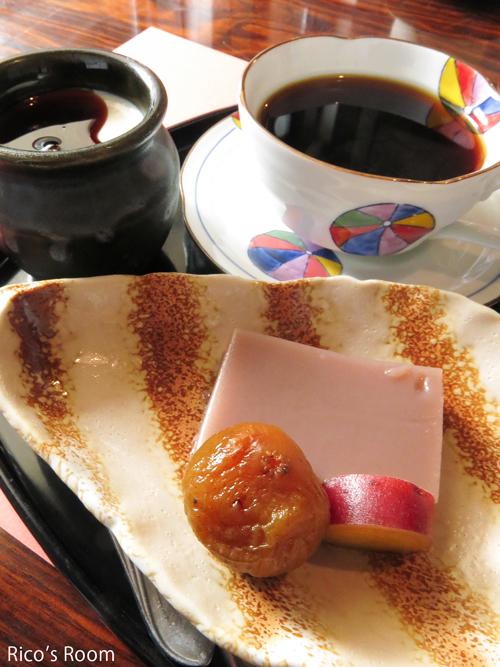 R 羽黒のそば蔵『金沢屋』さんの『つるおか御膳&デザートセット』ランチ♪