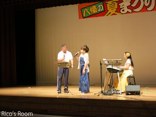 R『ヨイヨイまつり/第39回八幡の夏まつり』にY&Rで出演させていただきました♪