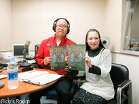 R 酒田エフエム放送『ハーバーラジオ』の【ワカダンナKEITAの世界よもやま話】にゲストでお招きをいただきました♪