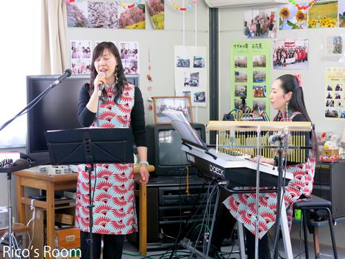 R 被災地支援『七郷中央公園仮設(仙台市)』で、ルリアール心の癒しのコンサート♪