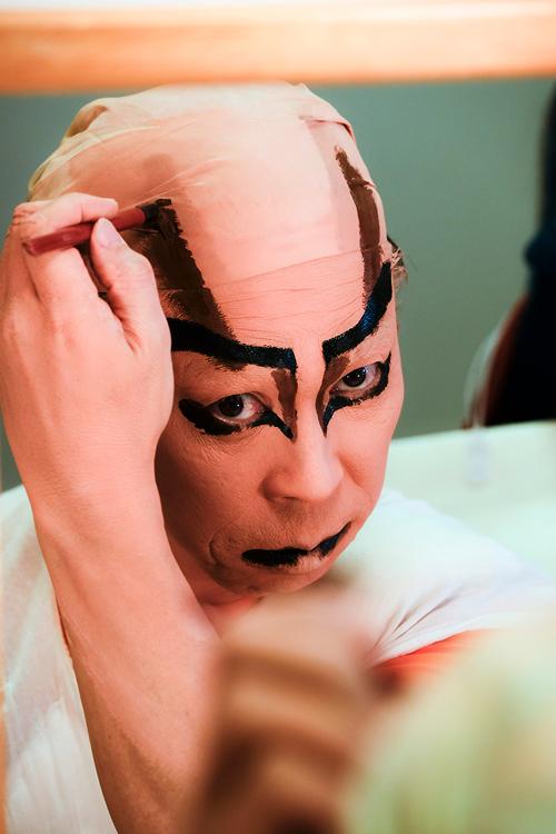 R『高田のばばぁ!』もとい『高田馬場十八番切』DVD鑑賞会/黒森歌舞伎演舞場にて