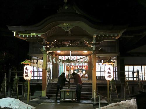 R 謹賀新年2016『萬谷/振る舞いもち』&『八雲神社/初詣』