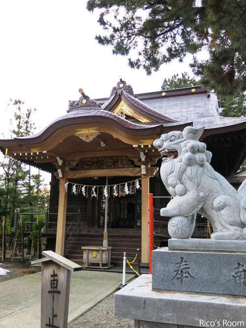 R 地元の氏神様『八雲神社(キウリ天王さま)』のお神札をいただいてまいりました♪