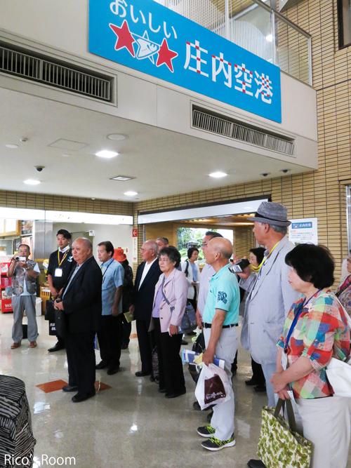 R『えらぶゆり』と『沖永良部島/和泊町の皆様のお見送り@おいしい庄内空港』