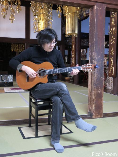 R ギタリスト土門秀明氏親子と行く『雪の總光寺(松山)』と『大来軒上安町支店』