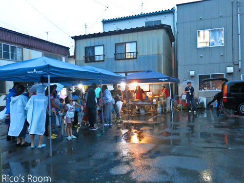 R 羽後本荘駅前『安産地蔵尊祭典』宵宮演芸会にYOSHIKO&RICOで出演をさせていただきました♪