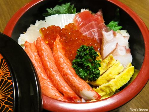 R 寒波の日!『我が家のちらし寿司』&『体幹ダイエット』