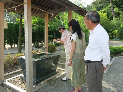 R 平成の徳の交わり!眞衣子さんと荘内南洲神社へお邪魔してきました♪