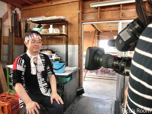 R 本日、テレビ収録!『斎染/斎藤染工場』さんが、YBC/news every『時を越えて』に出演されます♪