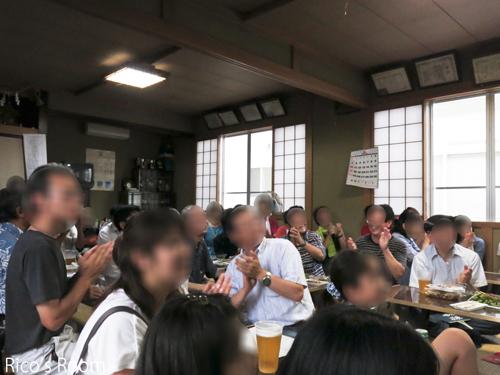 R 東大町三丁目(酒田市)『夏祭り』自治会館にて、YOSHIKO&RICOライブ♪