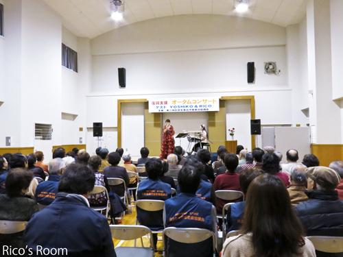 """R 『""""復興支援""""オータムコンサート』仙台/東六コミセンにY&Rで出演させていただきました♪"""