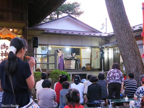 R 酒田駅前『キウリ天王祭(八雲神社)2016』にY&Rで出演させていただきました♪
