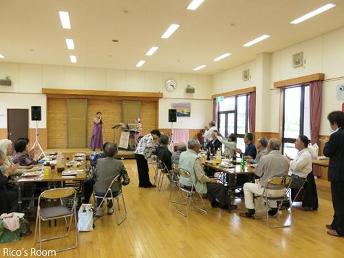 R『JA庄内みどり 酒田北部 年金友の会』泉コミセンにYOSHIKO&RICOで出演させていただきました♪