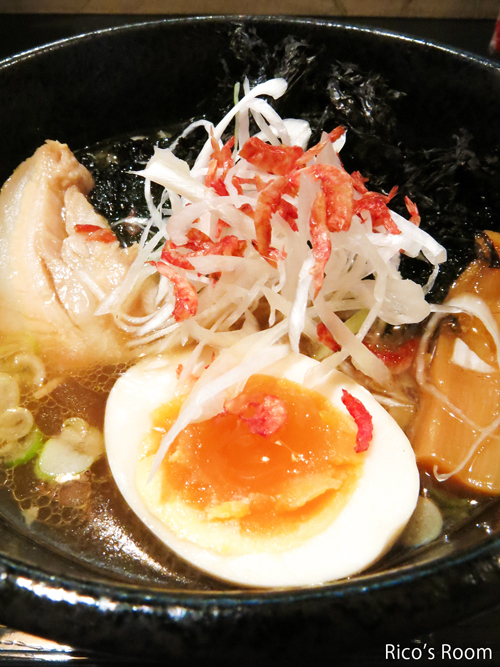 R 新旬屋麺 酒田中町店『岩のりガッツリ・海老豚骨』&『てる味噌』の巻♪