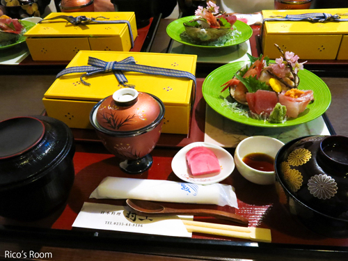 R 献上点心ランチ♪『日本料理 村上』(鶴岡)3人で女子会の巻〜♪