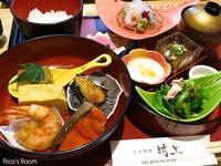 R 『日本料理 村上』玉手箱ランチで会食会♪