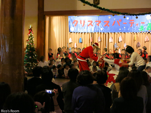 R 『十坂こども園/クリスマスパーティー2017』にルリアールで出演させていただきました♪