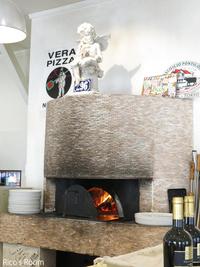 R 本物のピッツァをRicoママに。『穂波街道 緑のイスキア』で、絶品クアトロフォルマッジの巻♪