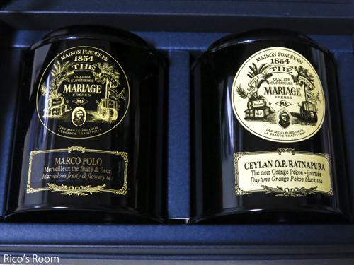 R フランス流紅茶芸術『マリアージュ フレール』クラシック缶紅茶ギフト&お手紙