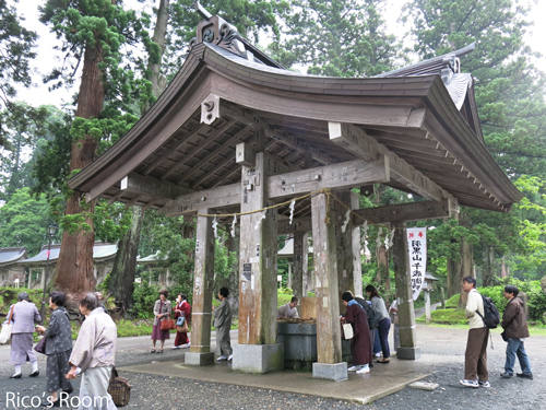 R 最終回『第30回 羽黒山奉納茶筌供養祭』へ参加させていただきました。