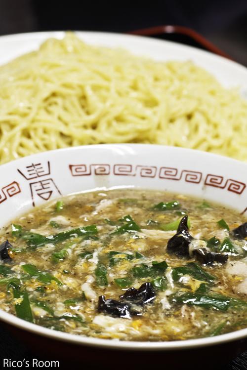 R 中華飯店『紅蘭』(酒田)の「肉とニラのつけ麺、広東メン、五目焼きそば」