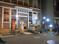 R タイのテレビ局『チャンネル3』in肘折温泉ロケ/ルリアールライブ出演♪
