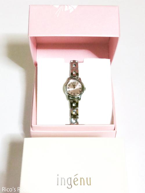 R 腕時計を新調しました♪ 『セイコー/ALBA アンジェーヌ』