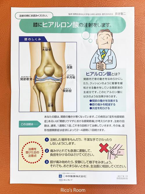 注射 ヒアルロン 膝 酸
